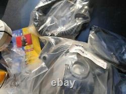 New Box Protective Hood Kit & Blower Large Masque De Gaz Poids Israeli Idf Wow