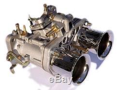 Nouveau 44 Carburateur D'oem Idf + Cornes D'air De Remplacement Pour Solex Dellorto Weber