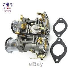 Nouveau Carburateur 44idf Avec Corne D'air Pour Bug / Beetle / Vw / Fiat / Porsche
