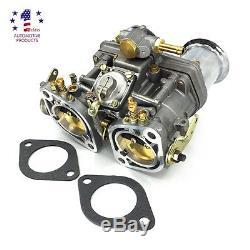Nouveau Carburateur 44idf Avec Klaxon D'air Adapté Au Bug / Scarabée / Vw / Fiat / Porsche