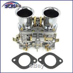 Nouveau Carburateur 44idf Pour Pour Le Scarabée De Bug Porsche Vw Fiat Avec La Corne D'air