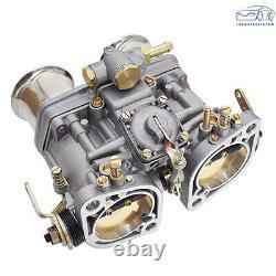 Nouveau Carburateur 48idf Avec Air Horn Fit Pour Solex Dellorto Weber Empi 48mm