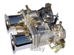 Nouveau Carburateur Oem Idf 40 + Cornes D'air De Rechange Pour Solex Dellorto Weber