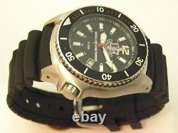 Nouveau Idf Analog Black Wrist Watch 10 Atm Modèle 2850 Water Resis By Adi Watches
