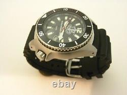 Nouveau Idf Analogique Noir Montre-bracelet 10 Atm Modèle 2850 Eau Resis Par Adi Montres