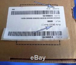 Nouveau Masque À Gaz Modèle M15 Dans Une Boîte Scellée Filtre Israélien Pour Adulte Et Tube En D