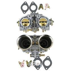 Paar Doppelvergaser Kit 40idf Für Vw Käfer Bug Beetle Fiat Porsche 912 356 Neu