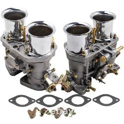 Paire 44idf Carburateur Carburateur Pour Vw Fiat Porsche Beetle Bug Aftermarket