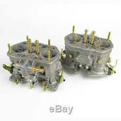 Paire De Carburateurs Weber 40idf Authentiques Carbs Offre Spéciale Vw Beetle Fiat Etc
