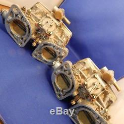 Paire Millésime Italienne Weber 40 Idf 2bbl Carburateurs Recharges Carb Volkswagen