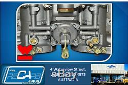 Pinto / Escort / Cortina 2l Véritable Double 44 Weber Idf Carburateur Kit De Conversion