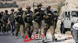 Protecteur De Genou À 2 Champs Zahal Idf Infanterie Militaire Authentique De Golani De L'armée Israélienne
