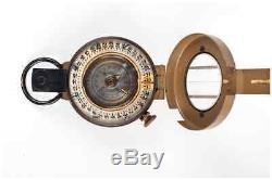 Rare Compas De Pétrole Israélien De Fabrication Israélienne Idf (code Scop22) Excédent