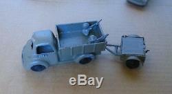 Rare Gamda 7 Israël 1950-1960 Véhicule Diecast De Camion Modèle Militaire Idf Zahal Toy