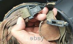 Rare Vtg 60's Idf Armée Israël Zahal Militaire Soldat Paratroopers Champ De Bataille