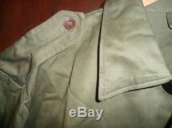 Rarissime Unique 1965 L'armée Israélienne T-shirt Idf Zahal Uniforme Avec Boutons Métalliques