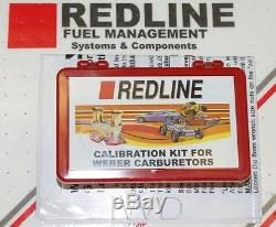 Redline Idle Jet Pac Pour Genuine Weber Idf Dual Carburateurs 40idf 44idf 48idf