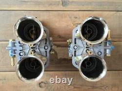 Satz (2x) 48 Fdi 7 Weber Vergaser Doppelvergaser Vw Käfer Porsche 356 912 Tuning