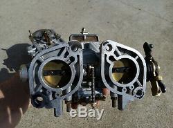 Satz Weber Doppelvergaser 36 Idf, Set Carburateurs Volkswagen Bus Porsche 36 Idf