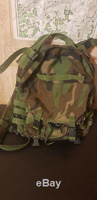 Sds Molle II Pack, Patrol Nno 8465-01-465-2088 Sac À Dos De L'armée Israélienne Zahal
