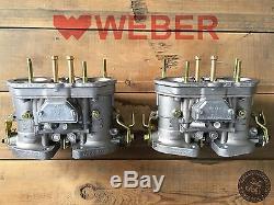 Set De 2x Carburateur Idf 40 Carburateurs Carburateur Twin Weber Coccinelle Bug Vw Porsche 356 912