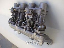 Set Weber Idf 40 13 15 Pour Fiat 124 131 Original Rebult Complet Prêt À Être Mis