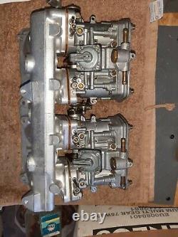 Set Weber Idf 40 42-43 Pour Fiat 124 131 Rebult Original Complet Prêt À Mettre