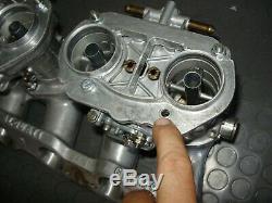 Set Weber Idf 44 Pour Fiat 124 131 Rebult Original Complet Prêt À Mettre Kit Alquati