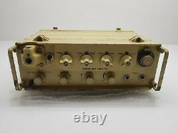 Spr-12 Récepteur Émetteur Radio Am Ssb Uper Armée Inférieure Militaire Idf 1972 Rf