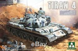 Takom 1/35 # 2051 Force De Défense Israélienne Tiran 4 Medium Tank