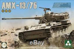 Takom 1 35 Amx-13 75 Défense Israélienne Light Force Réservoir 2 En 1 K38ldx Japon Ems