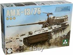 Takom 1 35 Amx-13 75 Israeli Defense Force Light Tank 2 En 1 K38ldx Japon Ems