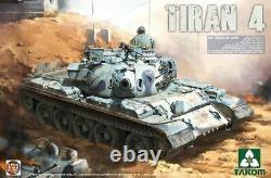 Takom 1/35 Force De Défense Israélienne Tiran 4 Medium Tank 2051
