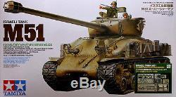 Tamiya 1/35 25180 Force De Défense Israélienne M51 Super Sherman Avec Des Pièces D'aber Pe