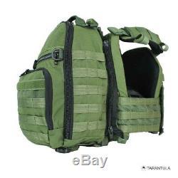 Tarantula Vitesse Mk-1 Porte-veste Tactique Molle Idf Militaire Forfait Complet Et