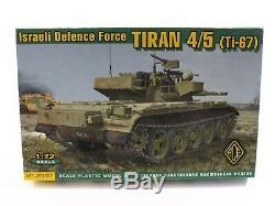 Tiran 4/5 Ti-67israeli Force De Défense De Ace 172 Kit Échelle 72157