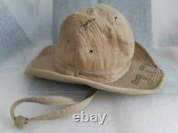 Très Rare Période De Mandat Palestine Israël Militaire Idf Zahal Army Green Hat 40