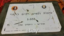 Tsahal Idf Israël Kit D'identification Vintage Pour Les Véhicules Blindés Ennemy Wow