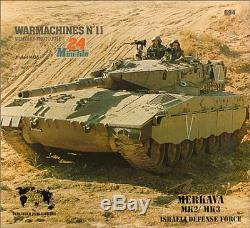Used (vg) Warmachines No. 11 Merkava Mk2 / Mk3, Force De Défense Israélienne Par Willy P