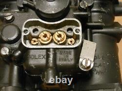 Véritable Solex C40 Phh-2 Italien Carb Fiat Vw Bug Bus Porsche 356 912 914 Datsun