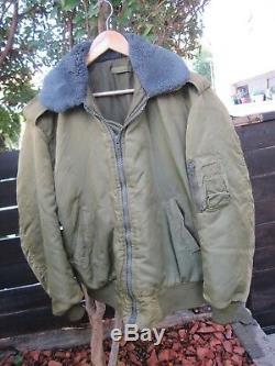 Veste Isolanne Idf Army- Golani Brigade Top En Laiton XL Avec Siege Fur & Zipper! Auth