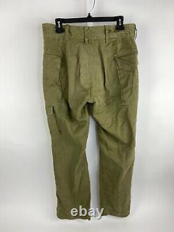 Vintage 1985 Tsahal Forces De Défense Israéliennes Uniforme Militaire Veste Pantalon Medium Lg