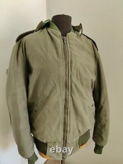 Vintage Authentic Idf USA Army Tanker Veste Field Jacket Manteau Utilisé Taille M