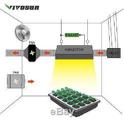 Vivosun 4 Pouces 203 Cfm Inline Ventilateur Soufflerie Ventilateur Avec Régulateur De Vitesse