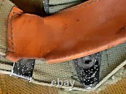 Vtg 50's Idf Army Israel Israeli Zahal Military Soldier Battlefield Signed