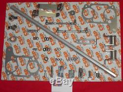 Vw Käfer T1 Crossbar-gasgestänge Gestänge Essence Weber Vergaser 44/48 Idf (-031)
