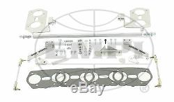 Vw Type 1/3 Kit Tringlerie De Barre Hexagonale Empi Hpmx Ou Weber Idf 43-5223