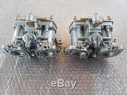 Weber 40 Idf 13-15 Carburateurs Doubles Vergaser Fiat 124 131 Abarth Twin Cam