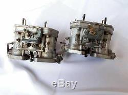 Weber 40 Idf 13-15 Carburateurs Doubles Vergaser Ford Fiat 124 Abarth Twin Cam 131