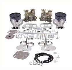 Weber Carburateur Kit Vw Bug & Type 1 Double 48 Idf Weber Accordé Pour L'air Refroidi Vw